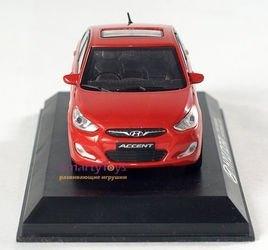 Коллекционная модель Hyundai Solaris/Accent 1:38 (PS-01) фотография 3