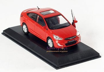 Коллекционная модель Hyundai Solaris/Accent 1:38 (PS-01) фотография 4