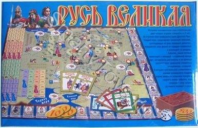 Русь Великая (настольная игра) фотография 2