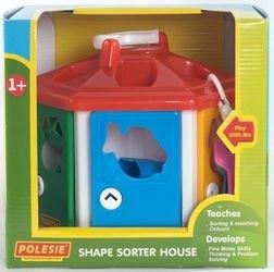Развивающая игрушка сортер Логический домик с ключиками (в коробке) фотография 2