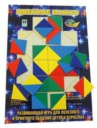 Фото Развивающая игра Цветное панно