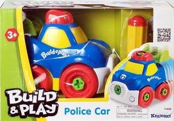 Фото Полицейская машина с отверткой, серия Build & Play (11936)