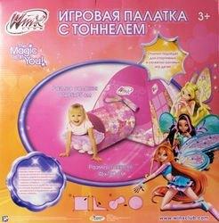 """Фото Детская палатка с тоннелем """"WINX""""  (GFA-0672-R)"""