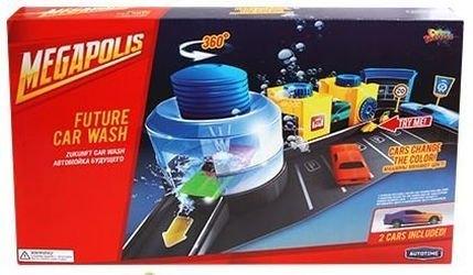 """Фото Игровой набор с машинками меняющими цвет Автомойка """"Color twisters"""" (78183/01)"""