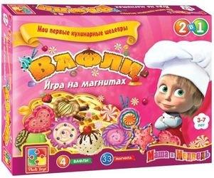 Фото Настольная игра на магнитах Вафли Мои первые кулинарные шедевры