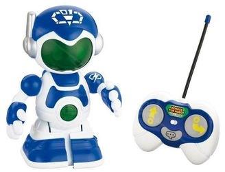 Фото Робот синий с пультом управления(13408)