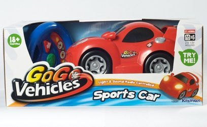 Фото Машина гоночная красная на радиоуправлении (13531)