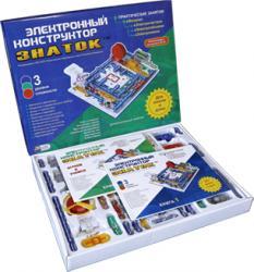 Электронный конструктор Знаток 999 схем Для школы и дома фотография 2