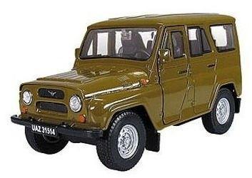 """Фото Масштабная модель УАЗ-31514 """"Козлик"""" 1:36  (11442)"""
