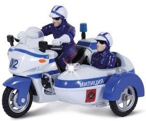 Фото Масштабная модельМотоцикл Полиция 02 с люлькой (СТ-1247-2)