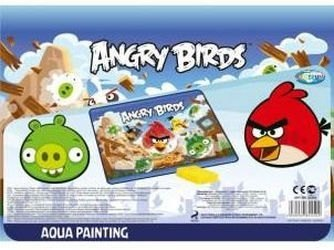 Фото Водная раскраска из пластика Angry birds (84450)