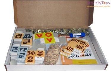 Кубики Зайцева (картонные несобранные) фотография 2