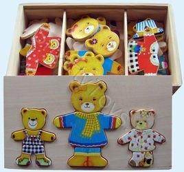 Набор с одеждой 3 медведя фотография 2