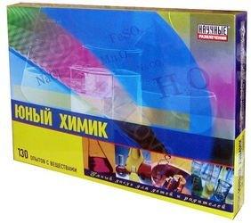 Юный Химик набор для опытов в домашних условиях фотография 1