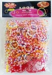 Фото Набор резинок для плетения Двухцветные 550 шт. + U-станок (RZ-31)