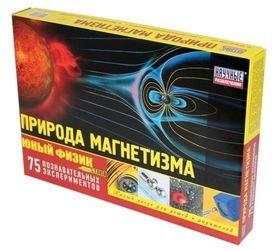 Фото Набор для экспериментов Юный физик Start Природа магнетизма (НР00036)