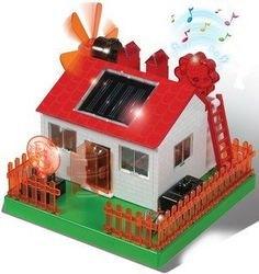 КонстурукторСделай сам Музыкальный дом на солнечных батареях фотография 2