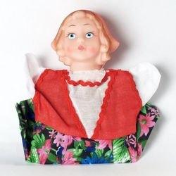 """Фото Кукла-перчатка """"Красная шапочка"""" (11029)"""