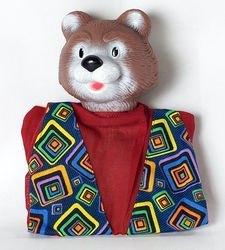 Фото Кукла-перчатка Медведь (11019)