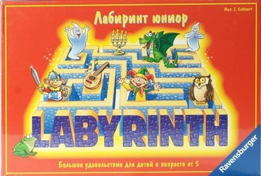 Фото Настольная игра Лабиринт Юниор (Labyrinth Junior)