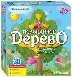 Фото Настольная игра 3D Тюльпанное дерево