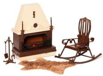 """Фото Кукольный набор мебели для каминной комнаты """"Коллекция"""""""