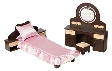 """Фото Кукольная мебель для спальни """"Коллекция""""(С-1303)"""