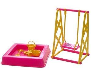 Фото Мебель для кукол Площадка - Качели для кукол (0067)