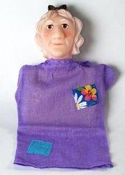 """Фото Кукла-перчатка """"Баба-Яга"""" (11030)"""