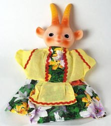 """Фото Кукла-перчатка """"Коза"""" (1024)"""