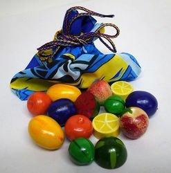 """Фото Деревянная игрушка Волшебный мешочек """"Фрукты-ягоды"""" цветные (Д-640)"""