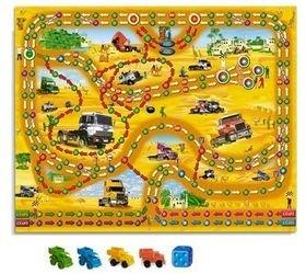 Настольная игра с кубиком и фишками Гонки в пустыне фотография 2