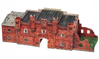 Сборная модель Холмские ворота (Брестская крепость, 366) фотография 2