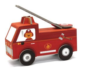 Фото 3D конструктор Пожарная машина
