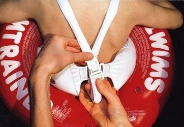 Надувной круг для плавания SWIMTRAINER красный (3 мес. - 4 года) фотография 4