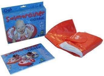 Надувной круг для плавания SWIMTRAINER красный (3 мес. - 4 года) фотография 6