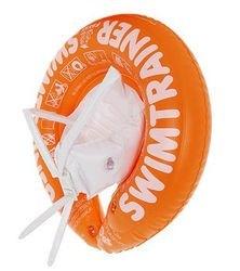Надувной круг для плавания SWIMTRAINER оранжевый фотография 2