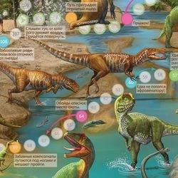 Настольная игра-ходилка Путешествие в мир динозавров фотография 2