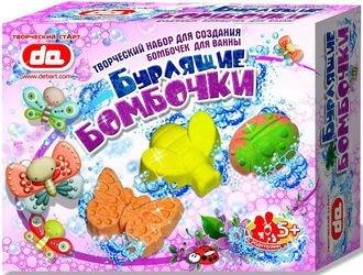 """Фото Набор для создания бурлящих бомбочек для ванны """"Насекомые"""""""