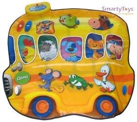 Звуковой коврик «Автобус-Зоопарк и Человек-Оркестр» фотография 2
