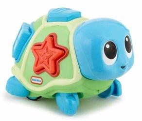 Фото Развивающая игрушка Ползающая черепаха-сортер