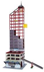 Фото Детский Конструктор небоскреб, паркинг, ж/д станция (72175)