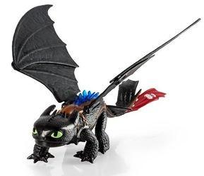Фото Игрушечный набор Dragons Игрушка дракон Большой Беззубик со световыми и звуковыми эффектами