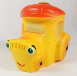 Фото Игрушка Трактор из пластизоля (СИ-462)