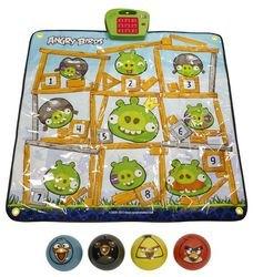 """Фото Игровой музыкальный коврик Дартс """"Angry Birds"""" 4 мячика (Т56501)"""