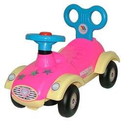 Фото Машина каталка для девочки Сабрина со звуком (7970)