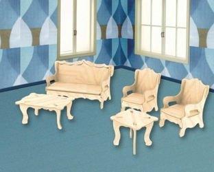 Фото Сборная деревянная модель Мебель (П008)