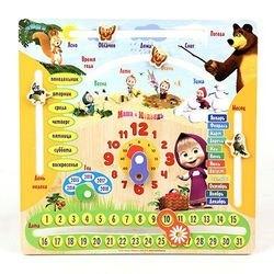 Фото Детский деревянный календарь Машин календарь (GT8577)