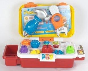 Фото Детский набор инструментов Школа ремонта озвученный (2216А-32)