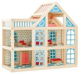 Фото Кукольный домик деревянный 3 этажа (Д250)